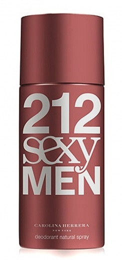 Carolina Herrera 212 Sexy Men Deodorant 150ml