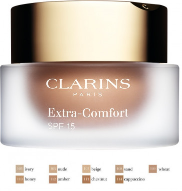 Clarins Extra Comfort Foundation 108 30ml