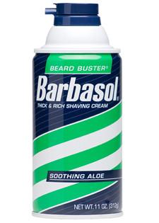 Barbasol Thick & Rich Shaving Cream Soothing Aloe  312 gr