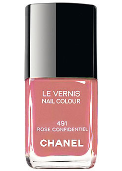 Chanel Le Vernis 491 Rose Confidentiel 491 Rose Confidentiel