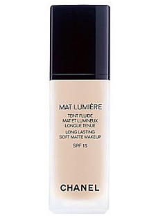 Chanel Long Lasting Luminous Matte Fluid-SPF 15 20 Clair