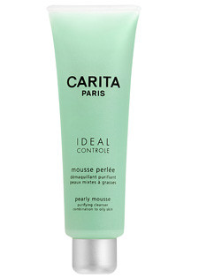 Carita Pearly Mousse Purifying Cleanser Combination to Oily Skin 125ml